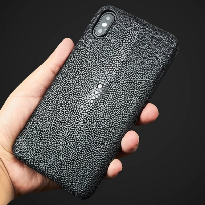 Stingray Leather iPhone Xs, Xs Max Cases