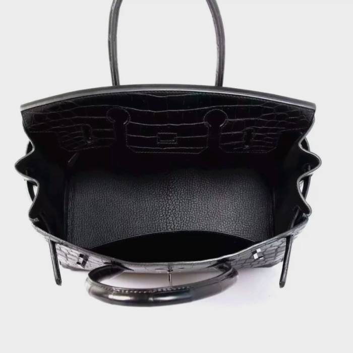 Designer Alligator Handbag-Inside