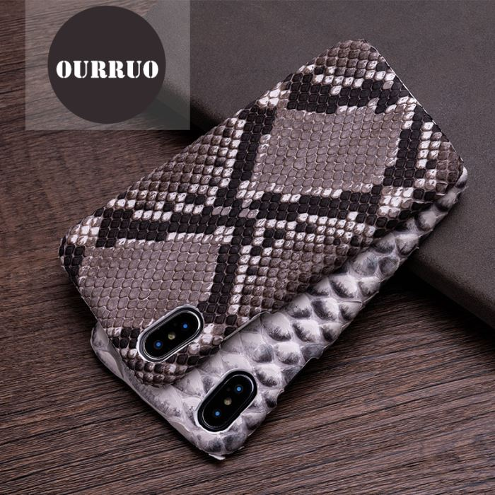 Exotic Leather For iPhone Case