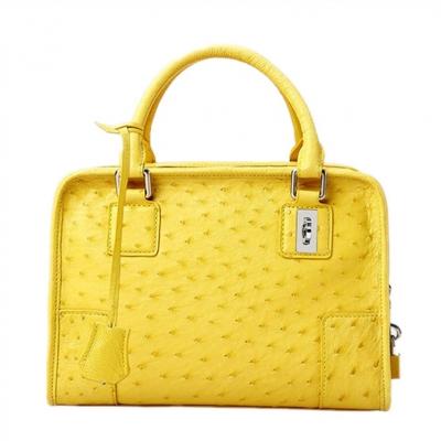 Ostrich Leather Satchel Ostrich Leather Handbag