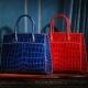 alligator leather handbags-OURRUO