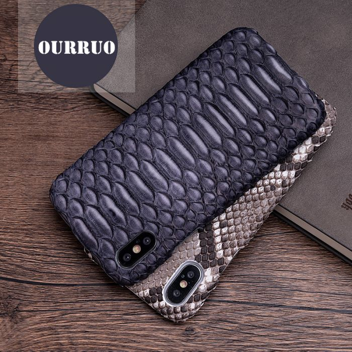 iPhone Exotic Leather Cases