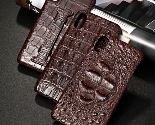Crocodile cases for iPhone
