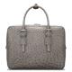 Designer Ostrich Leather Business Work Briefcase Laptop Bag