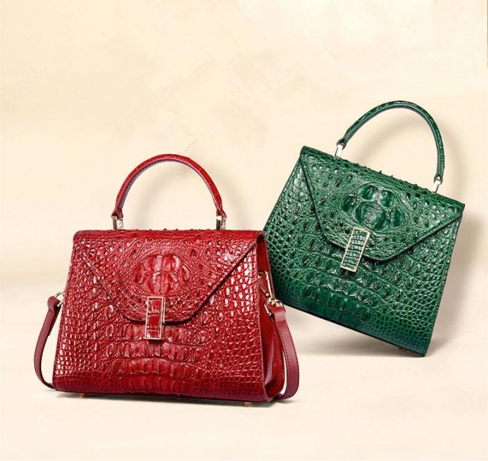 Ladies Designer Crocodile Handbags Shoulder Bags