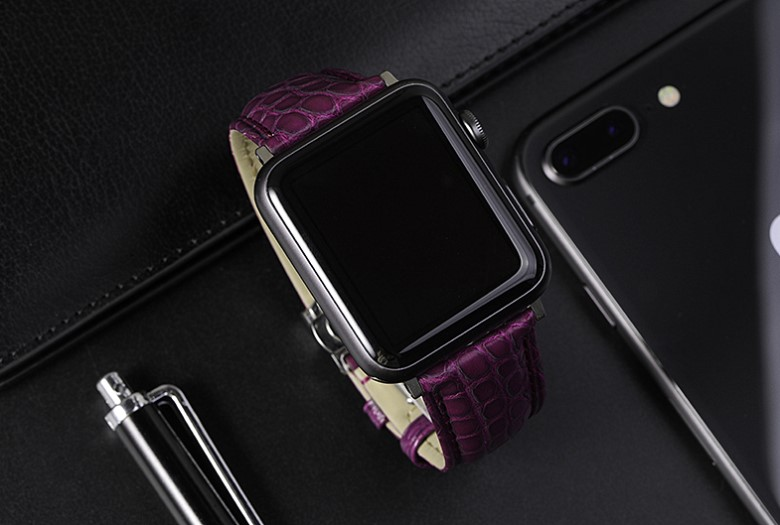 OURRUO Apple Watch Bands-Purple