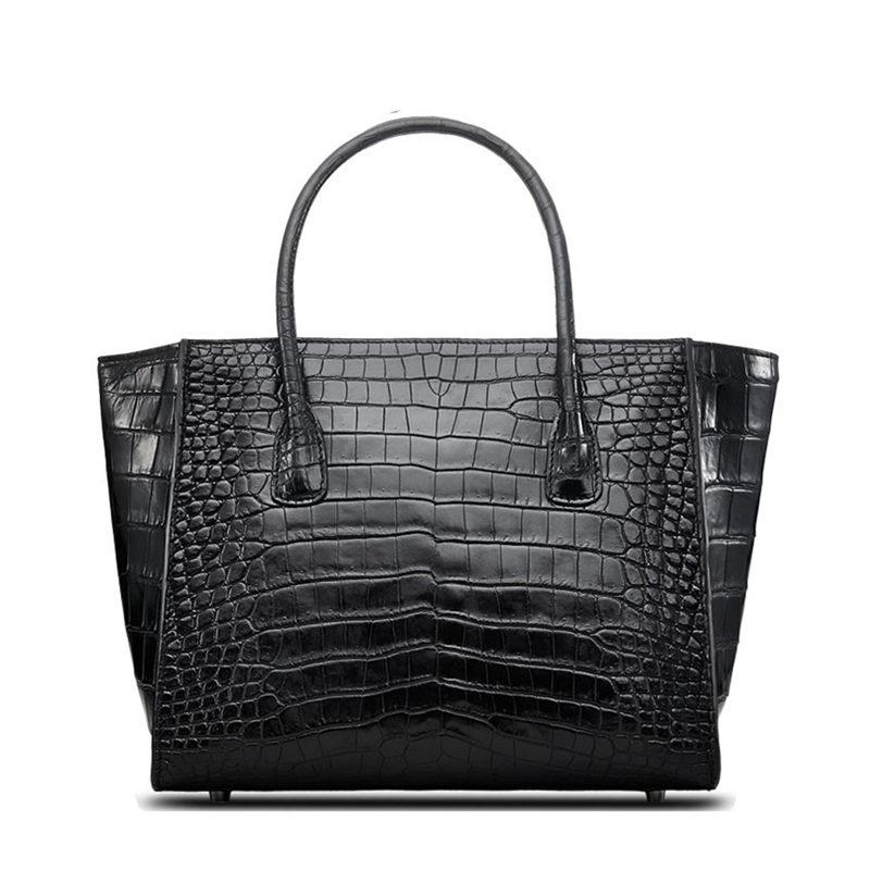 OURRUO's Alligator Leather Tote Bag
