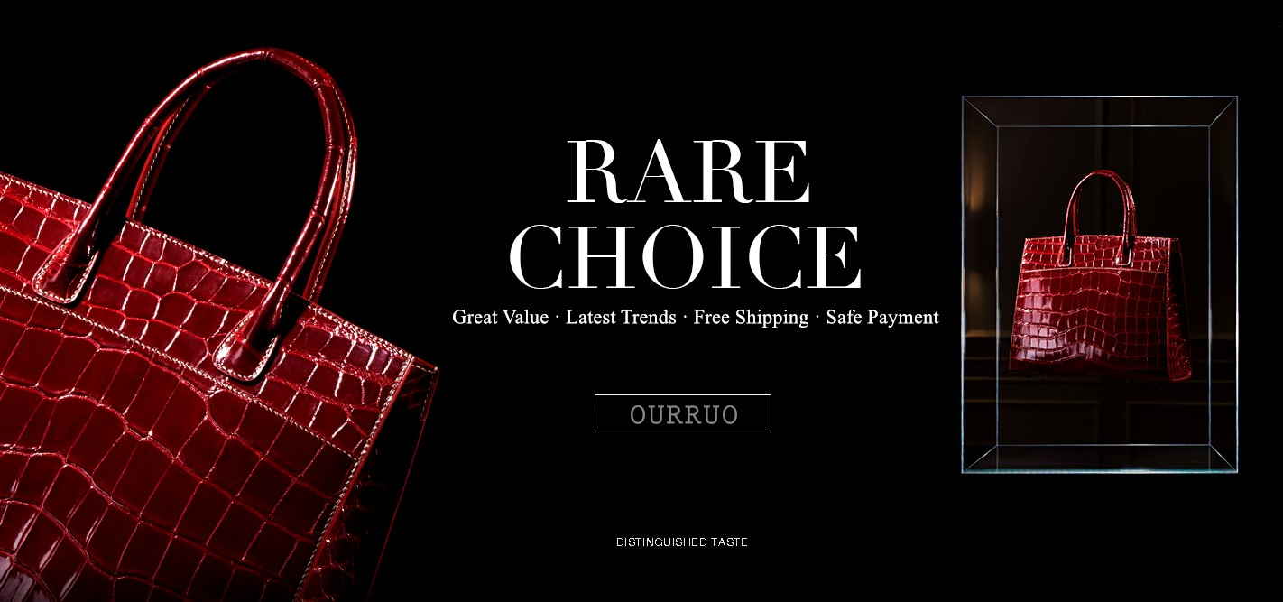 OURRUO's exotic leather accessories