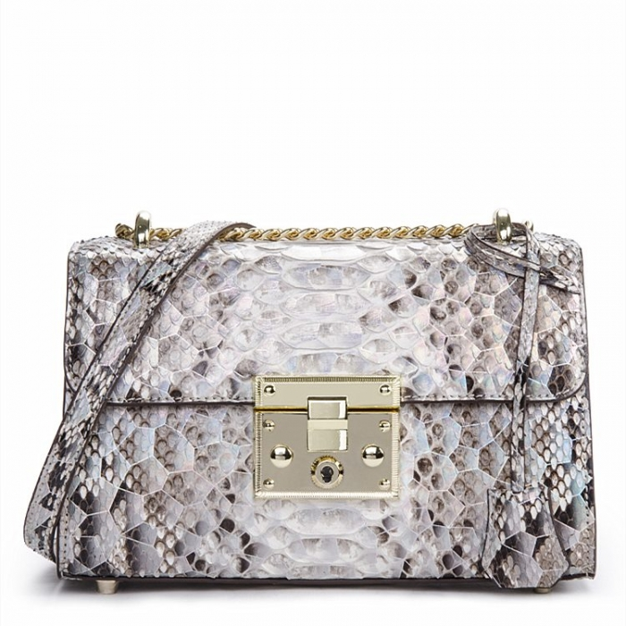 Python Skin Purse, Python Skin Clutch Bag Cross Body Bag