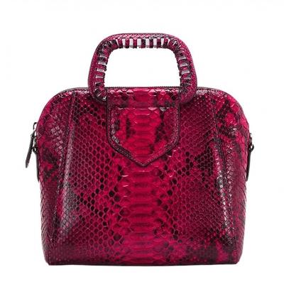 Snakeskin Handbag Tote Crossbody Bag