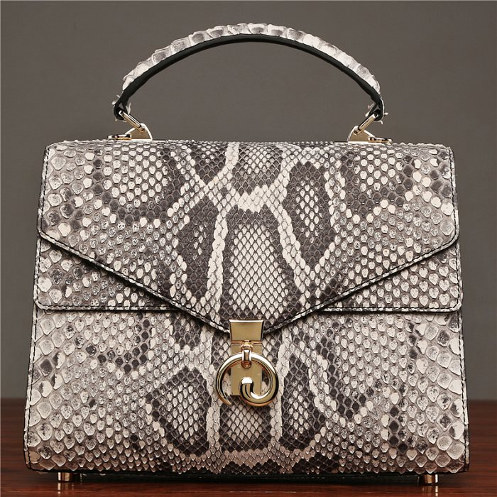 Genuine Snakeskin Handbag