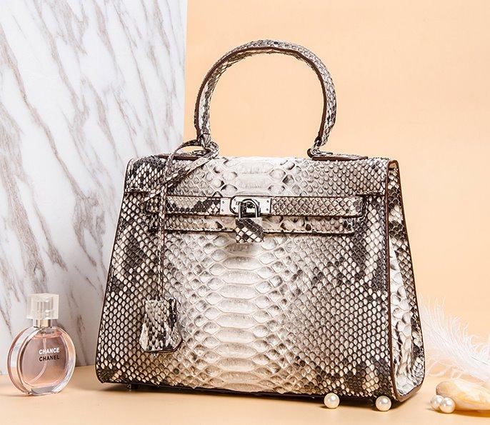 Python Skin Bag