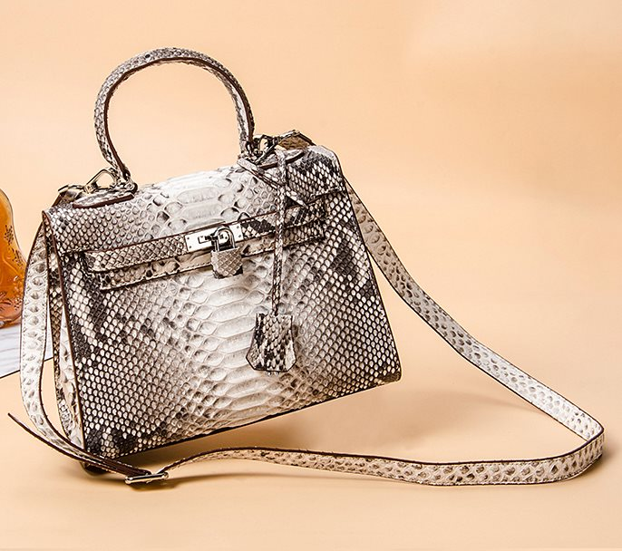 Python Skin Handbag