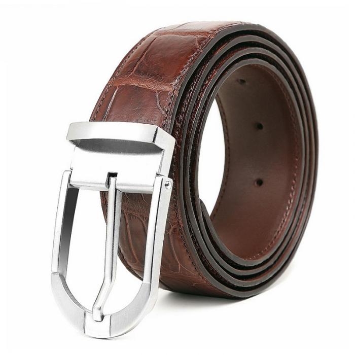 Fashion Alligator Leather Belt for Businessmen