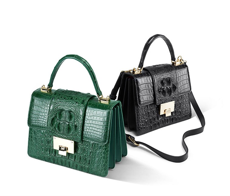 ladies crocodile bags