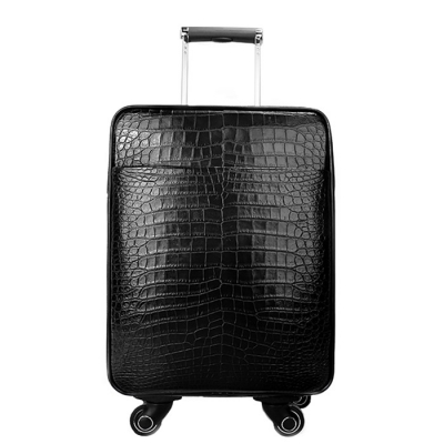 Classic Alligator Luggage Alligator Suitcase with Spinner Wheels