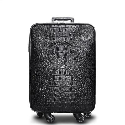 Crocodile Leather Luggage