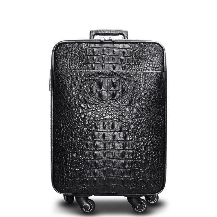 Crocodile Leather Luggage