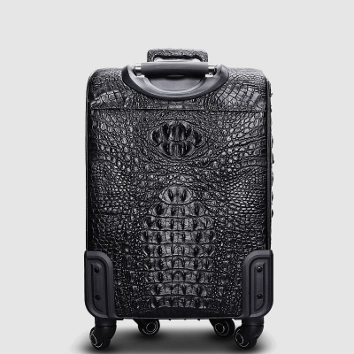 Crocodile Leather Luggage-Back