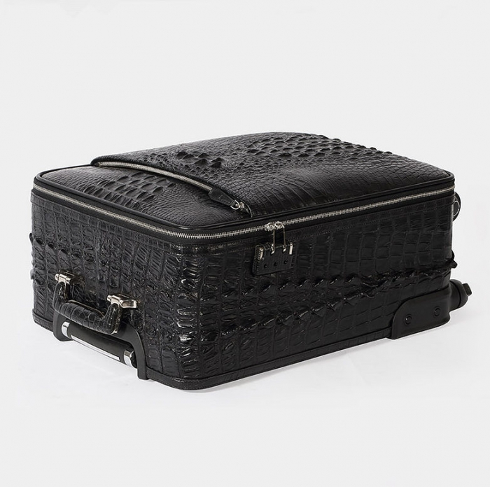 Crocodile Leather Luggage-Details-3