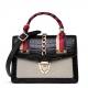 Fashion Small Alligator Skin Shoulder Handbags-Black