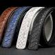 Handmade snakeskin belt