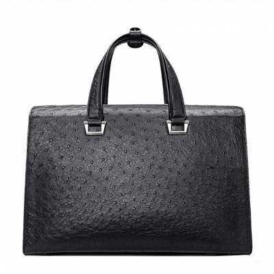 Ostrich Briefcase Business Travel Bags with Combination Lock