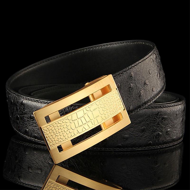 Stunning Exotic Skin Belts-Ostrich Belts