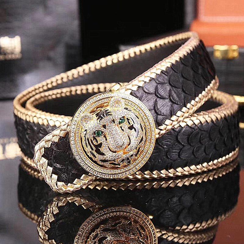 Stunning Exotic Skin Belts-Snakeskin Belts