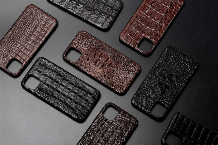 Crocodile & Alligator iPhone 11, 11 Pro, 11 Pro Max Cases with Full Soft TPU Edges