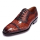 Formal Alligator Leather Cap Toe Oxford Dress Shoes