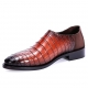 Alligator Loafer Comfortable Slip-on Shoes