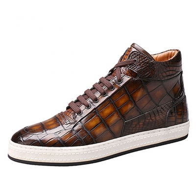 Alligator Leather Chukka Sneaker