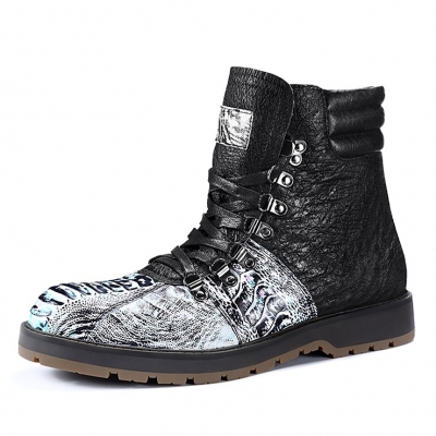 Casual Ostrich Boots for Men