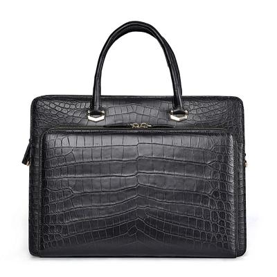 Stylish Alligator Messenger Bags Laptop Briefcases