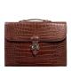 Stylish Unisex Alligator Briefcase Laptop Handbag