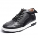 Comfortable Casual Ostrich Lace Up Sneakers