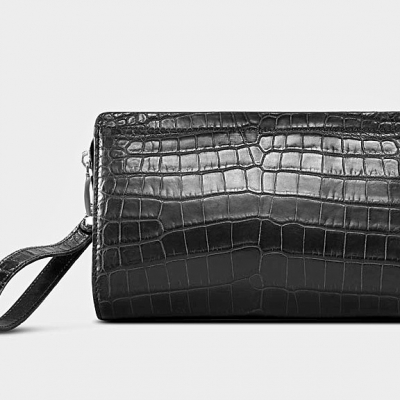 Alligator Leather Clutch Bag Organizer Purse Business Wallet-1