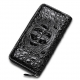 Crocodile Leather Long Checkbook Wallets Phone Clutch with Zipper
