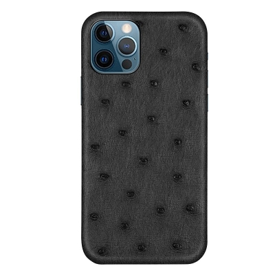 Ostrich Cases for iPhone 11, 12 Series-Black