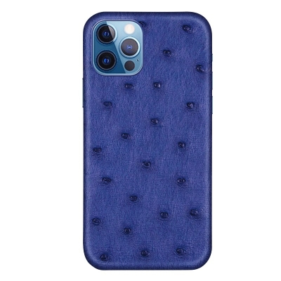 Ostrich Cases for iPhone 11, 12 Series-Blue