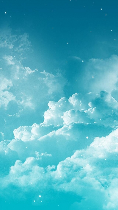 Fantasy Clouds-iPhone Wallpaper