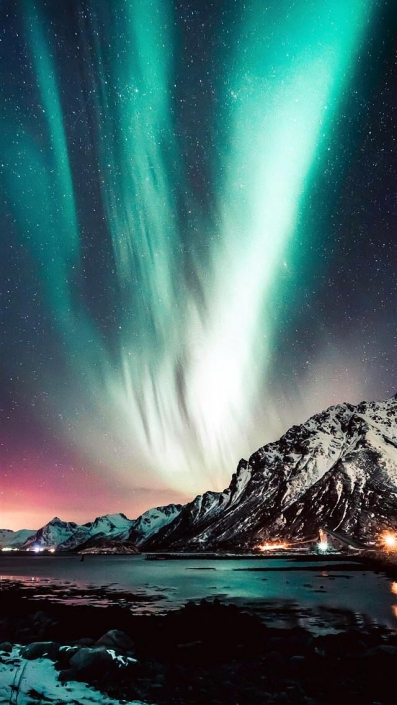Northern Lights-iPhone Wallpaper